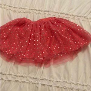 First Impressions little girls tulle overlay skirt